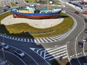 Turbo rotonda en Vigo