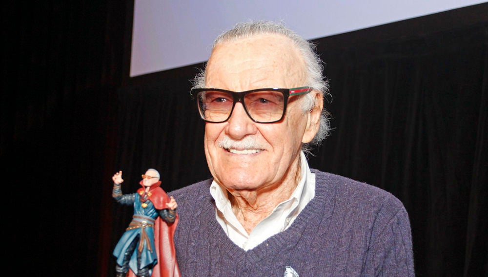 Stan Lee en una de sus últimas apariciones públicas