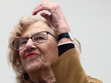 La alcaldesa de Madrid Manuela Carmena