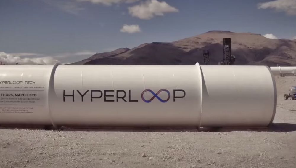 Tubo de Hyperloop