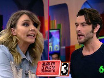 Anna Simon y Javier Rey