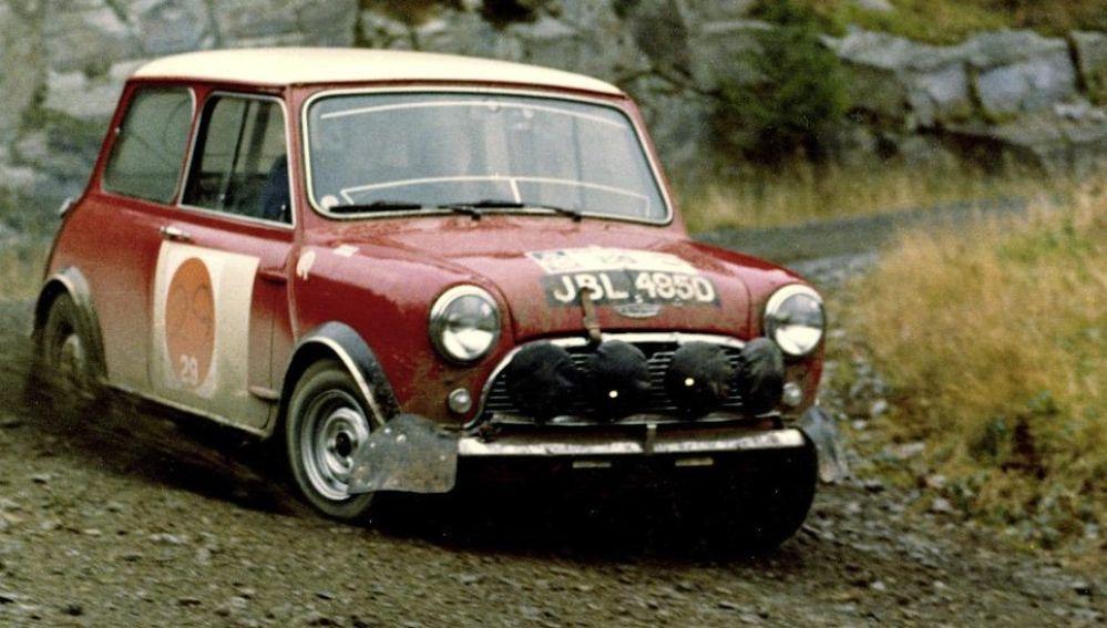 MiniCooperRACRally1966 Mini Cooper RAC Rally 1966