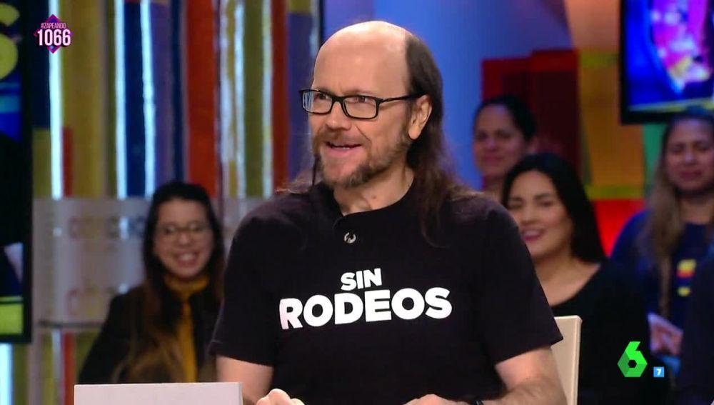 Santiago Segura, en Zapeando