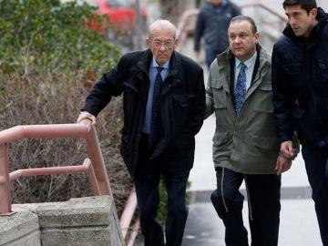 Los doctores Simón Viñals, y su hijo Carlos Viñals