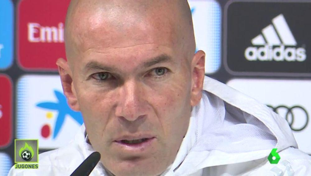 Zidane cree que hay liga