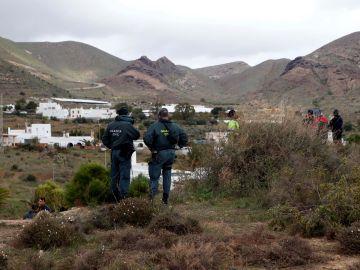 El dispositivo de búsqueda que intenta localizar a Gabriel Cruz, el niño de 8 años desaparecido