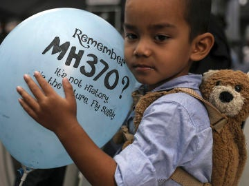Día de conmemoración del vuelo MH370 de Malaysian Airlines en Kuala Lumpur