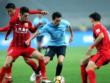 Gaitán, en la liga china