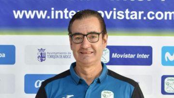 Cecilio Rodríguez, utillero del Movistar Inter