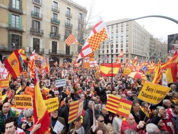 La Plataforma por Tabarnia ha iniciado su movilización en Barcelona