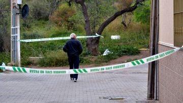La Guardia Civil ha acordonado la zona donde desapareció Gabriel Cruz