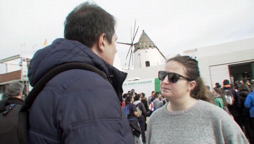 Rocío Muñoz, portavoz de la familia de Gabriel
