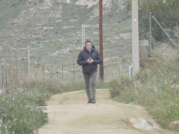 Leo Álvarez recorre el camino en el que se perdió Gabriel Cruz