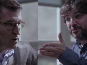 Alberto Núñez Feijóo y Jordi Évole