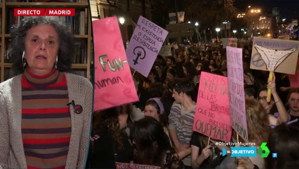 Justa Montero, una de las impulsoras de la huelga general feminista del 8M