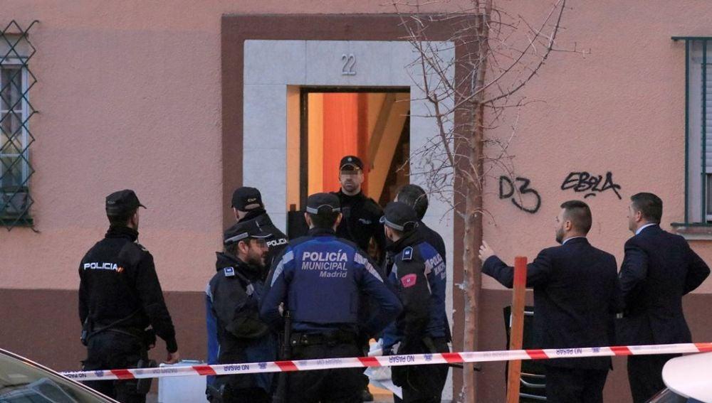 Lugar en el que se ha producido un asesinato en Madrid