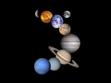 Desde la Tierra, Júpiter, Marte y Saturno se verán alineados con la Luna