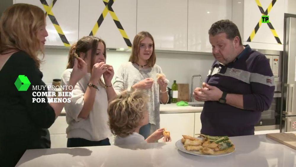 Un plato de comida equilibrado, ¿se lo comerán bien los niños?