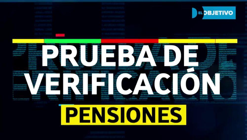 El argumentario engañoso del PP sobre pensiones