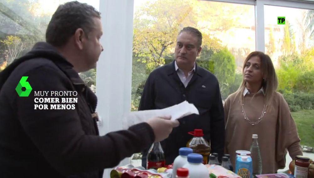 """Alberto Chicote enseña a 'Comer bien por menos': """"Creo que de esta compra se podría ahorrar cien euros"""""""