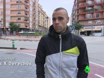Víctor Sánchez, extrabajador de 'Deliveroo'