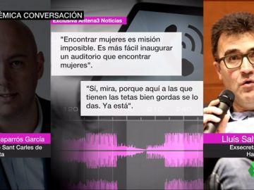 La conversación machista de Lluís Salvadó
