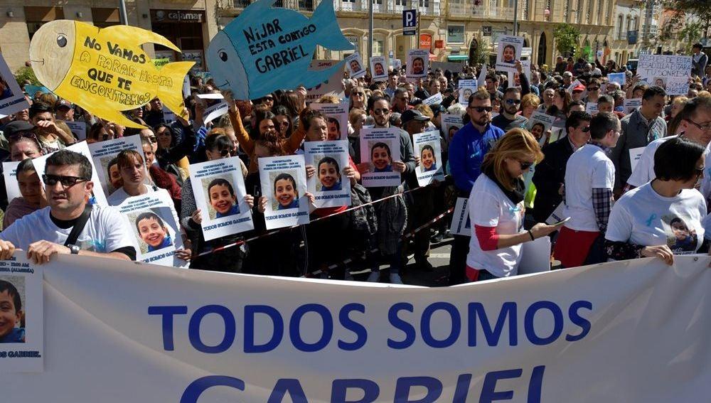 Movilización por Gabriel Cruz