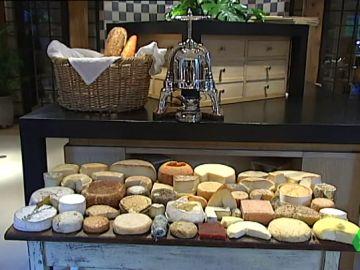 Imagen de quesos manchegos