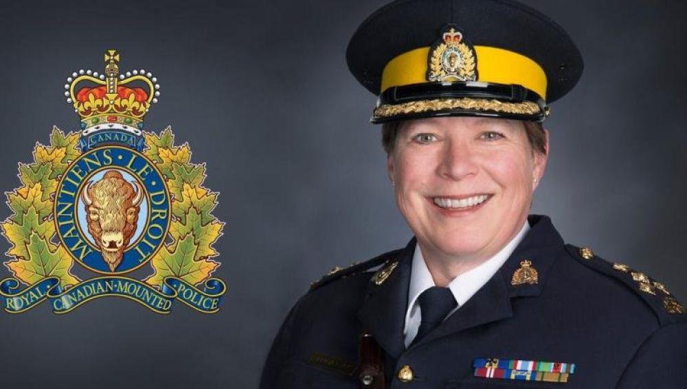Brenda Lucki, nueva jefa de la Policía Montada de Canadá