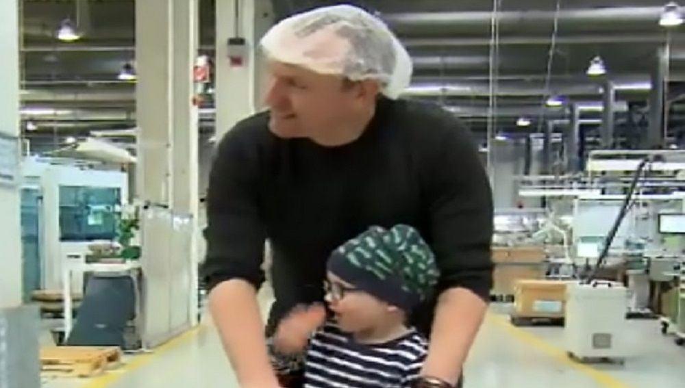 Andreas Graf y su hijo Julius