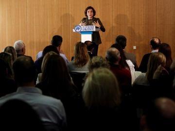 Dolors Montserrat en el acto del PP 'La igualdad real'