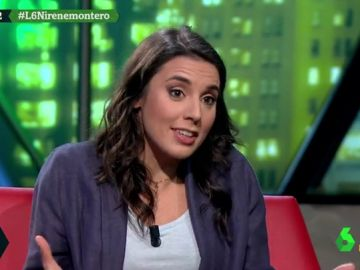 Irene Montero en laSexta Noche