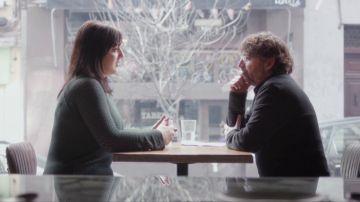 Jordi Évole y Amelia Tiganus, víctima de explotación sexual