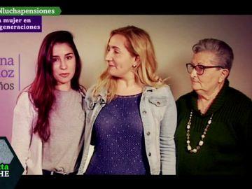 La mujer en tres generaciones