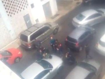 Momento de la detención de Ana Julia Quezada por la muerte de Gabriel