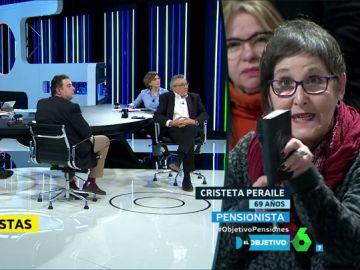 Cristeta Peraile, pensionista