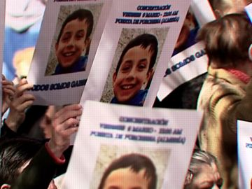 Movilización de apoyo a la familia de Gabriel Cruz