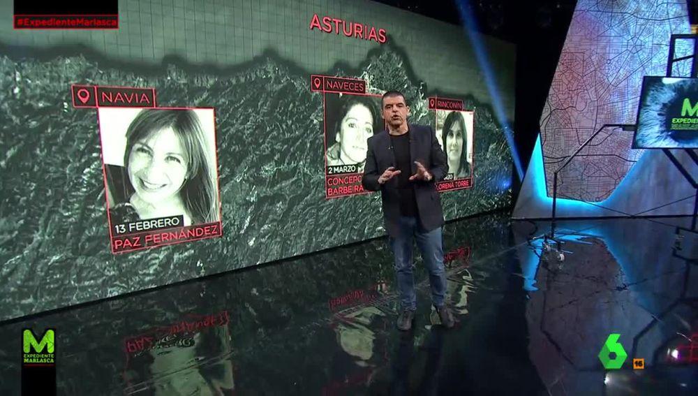 Mujeres desaparecidas en Asturias