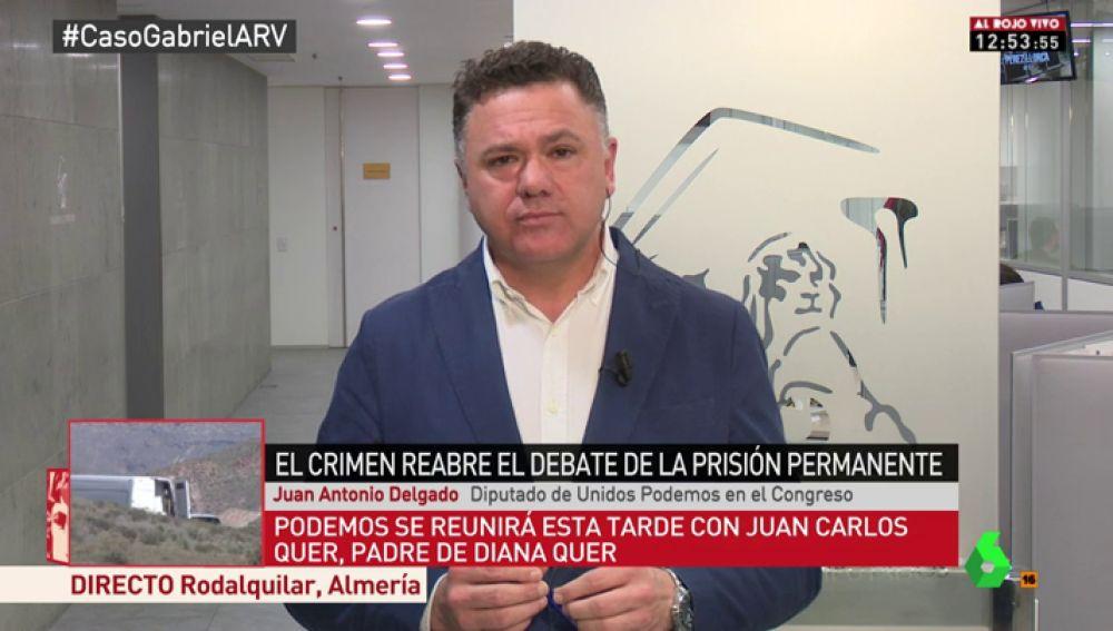 Juan Antonio Delgado, diputado de Unidos Podemos