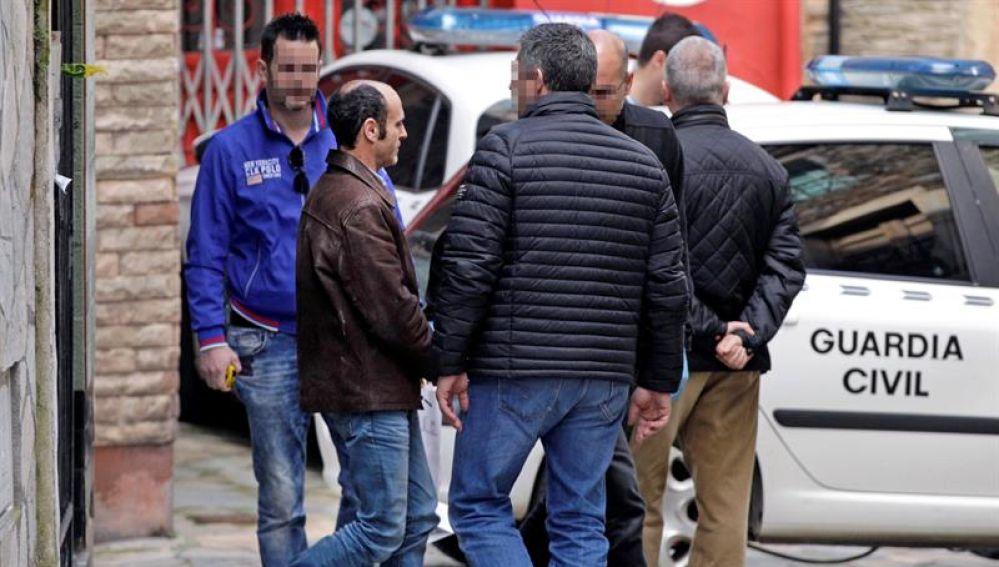El detenido por el asesinato de Navia pasa a disposición judicial