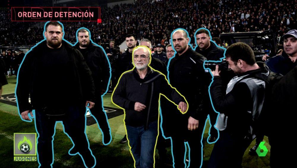 Multimillonario, amigo de Putin... Así es Ivan Savvidis, el presidente del PAOK que tiene una orden de detención