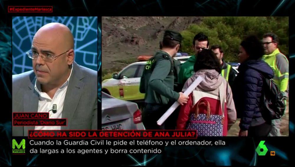 Juan Cano, periodista de 'Diario Sur'