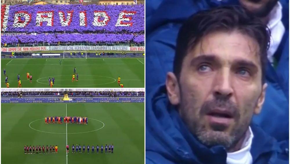 Primer partido en Italia sin Davide Astori