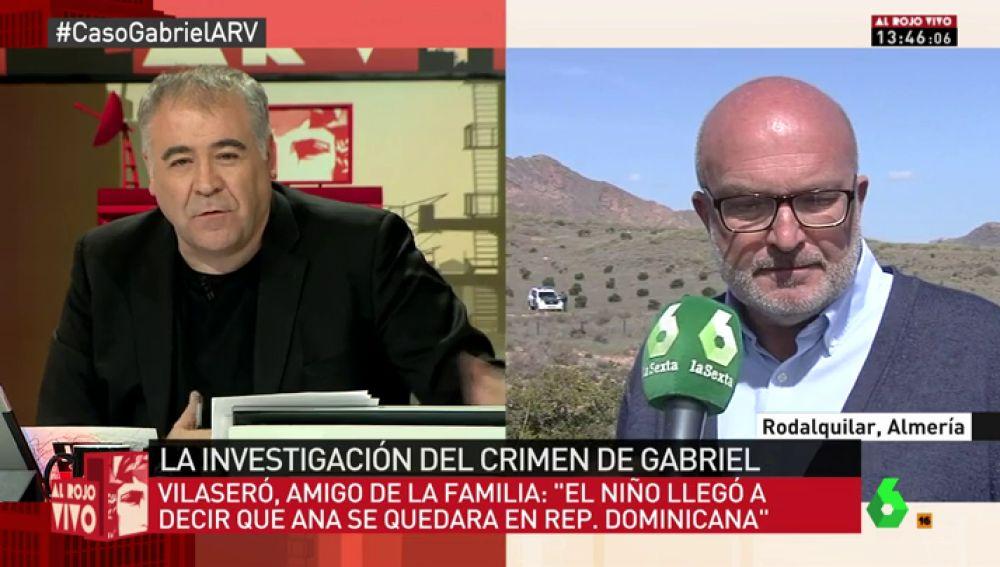 Manel Vilaseró, periodista y amigo de la familia de Gabriel Cruz