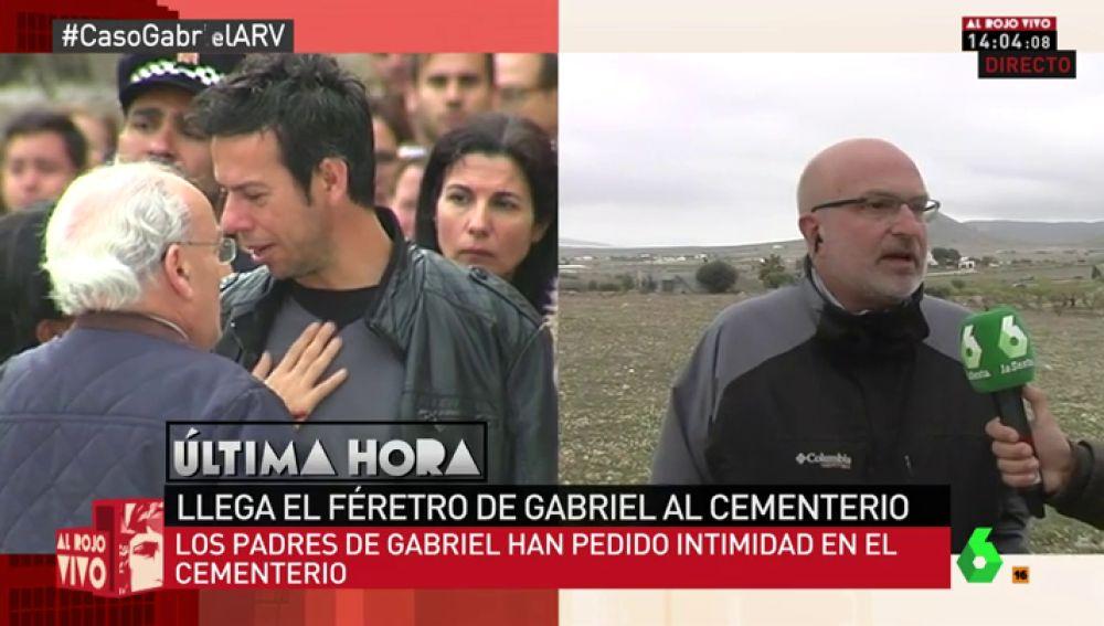El periodista y amigo de la familia, Manel Vilaseró