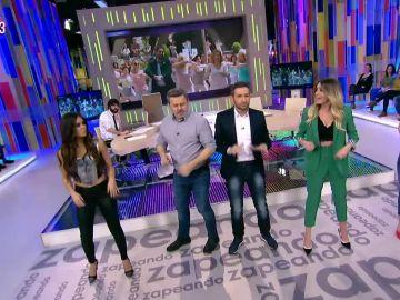 Así bailan en Zapeando el pegadizo reggaeton 'El hombre lapa'