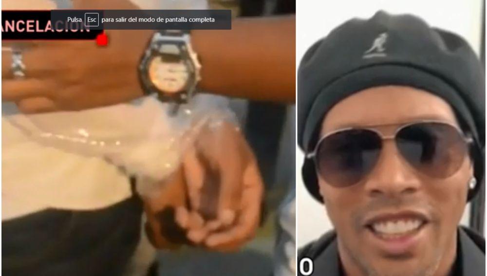 Protestan por la ausencia de Ronaldinho en un evento en México