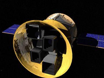 Representación artística de TESS, el nuevo cazador de exoplanetas