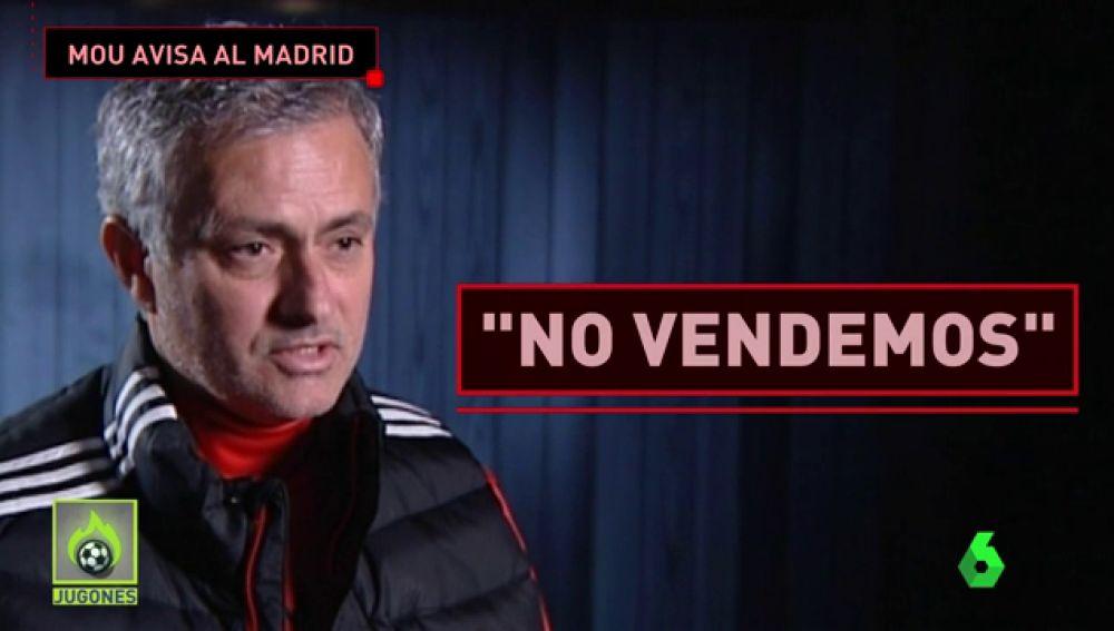 MOURINHO NO VENDE A DE GEA