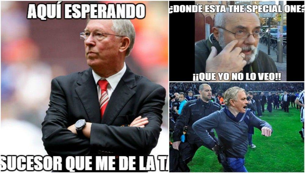 Los 'memes' de la eliminación del United de la Champions